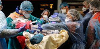 Γαλλία-Covid-19: Με ενσωματωμένη την καταμέτρηση των θανάτων σε γηροκομεία, τα θύματα ξεπερνούν τα 5.300