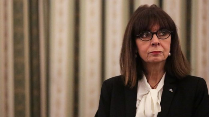 Κατ. Σακελλαροπούλου στο twitter: Συμπαράσταση προς τον ιταλικό λαό