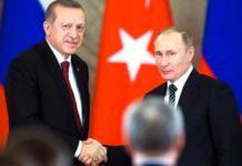 Πούτιν και Ερντογάν συζήτησαν για την πανδημία του κορονοϊού και για την Συρία