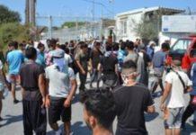 Στο λιμάνι του Πειραιά μεταφέρονται 163 μετανάστες και πρόσφυγες από τη Μυτιλήνη
