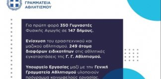 Συμφωνία Αυγενάκη – Βρούτση για 599 θέσεις, από το πρόγραμμα κοινωφελούς εργασίας του ΟΑΕΔ