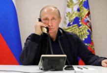 Τηλεφωνική συνομιλία του Αλ. Βούτσιτς με Πούτιν και Μακρόν
