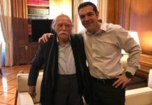 Το «αντίο» του Αλέξη Τσίπρα στον Μανώλη Γλέζο