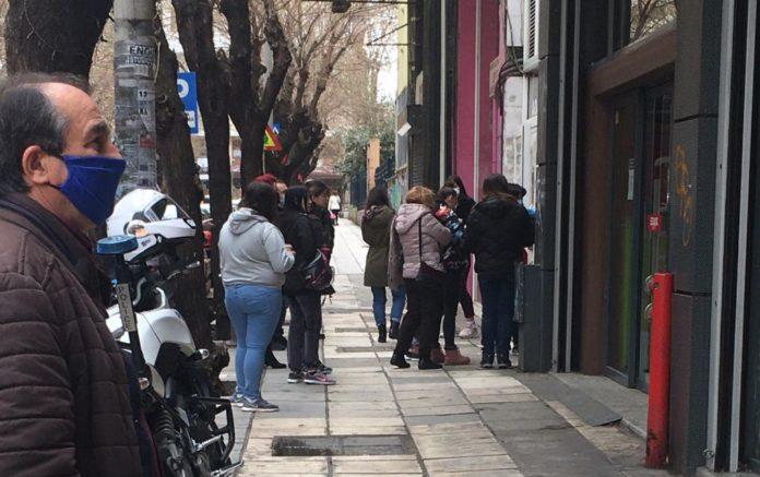 Ουρές έξω από Εφορία στη Θεσσαλονίκη! (pics)