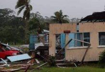Ο κυκλώνας Χάρολντ σάρωσε τα νησιά Φιτζι (vd)