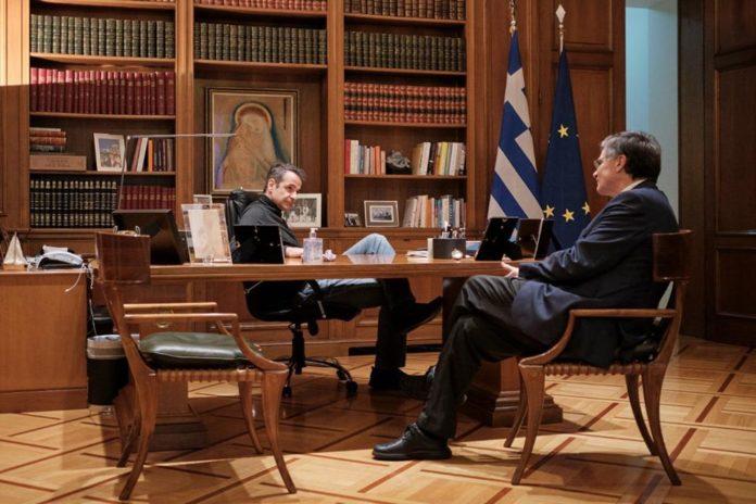 Μητσοτάκης: Η ανάρτησή του με τον Σωτήρη Τσιόδρα