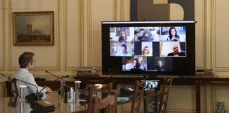 Τηλεδιάσκεψη Μητσοτάκη με τους ευρωβουλευτές της ΝΔ