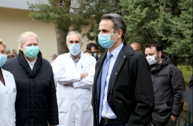 Στο νοσοκομείο «Σωτηρία» ο Κυρ. Μητσοτάκης