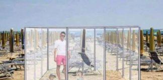 Κορονοϊός: Στις παραλίες με… πλεξιγκλάς; (pics)