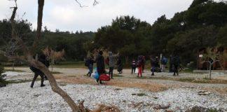 Σάμος: Άφιξη μεταναστών στην παραλία της Μουρτιάς (pics)
