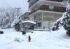 Στα λευκά η Βόρεια Ελλάδα – Χιόνια στη Θεσσαλονίκη (vds)