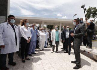 Η επίσκεψη του Κ.Μητσοτάκη στο ΑΧΕΠΑ (vd)