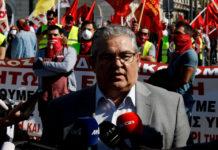 Κουτσούμπας: «Άμεσα η αναγνώριση του παλαιστινιακού κράτους από την κυβέρνηση»