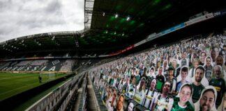 Γκλάντμπαχ: Γεμάτο γήπεδο με 12.000 εικόνες…οπαδών