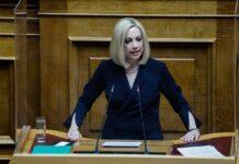 Γεννηματά: «Έχει ευθύνη ο Μητσοτάκης να δείξει την αποφασιστικότητα της χώρας»