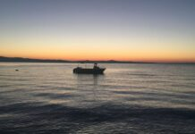 Χαλκιδική: Το διπλό ουράνιο τόξο στη Νέα Φώκαια