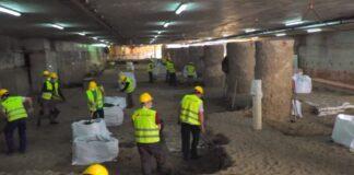 Μετρό Θεσσαλονίκη: Η εικόνα στο σταθμό Βενιζέλου (vd)