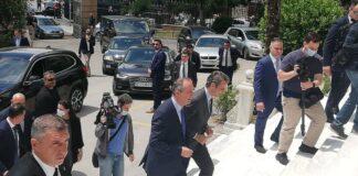 Θεσσαλονίκη: Στο ΥΜΑΘ ο Κυριάκος Μητσοτάκης (vd)