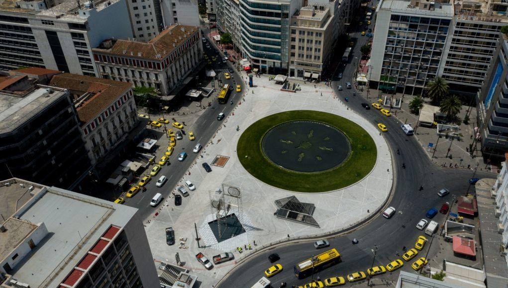 Παραδίδεται απόψε η νέα Πλατεία Ομονοίας (vd)
