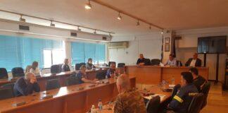 Σύσκεψη στο Δημαρχείο Λαγκαδά για την αντιπυρική περίοδο 2020