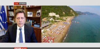 Βαρβιτσιώτης: «Η Ελλάδα περιμένει εκατομμύρια τουρίστες»