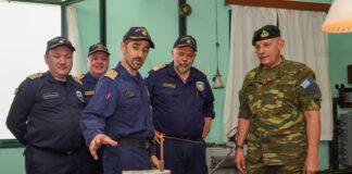 Επίσκεψη του Αρχηγού ΓΕΕΘΑ στο Αρχηγείο Στόλου