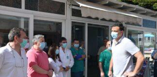 Το Νοσοκομείο Σάμου επισκέφθηκε ο Β. Κικίλιας