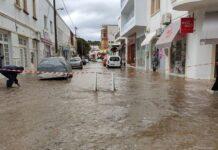 «Πνίγηκε» η Λέρος – Μεγάλες καταστροφές από την κακοκαιρία