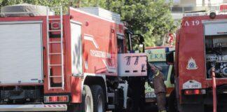 ΠΑΘΕ: Φωτιά σε φορτηγό- Ένα άτομο χωρίς τις αισθήσεις του