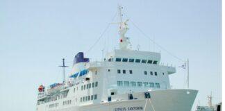 Σαντορίνη: Πρόσκρουση του πλοίου «Πρέβελης» στο λιμάνι - Κανένας τραυματισμός