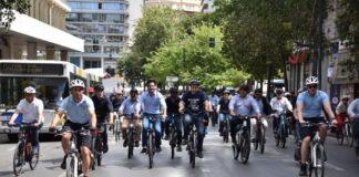 Οι δήμαρχοι το… έριξαν στο ποδήλατο (pics)