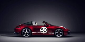 Σε 992 αριθμημένα αντίτυπα η συλλεκτική Porsche 911 Targa 4S Heritage