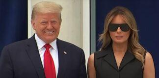 Η άβολη στιγμή που ο Τραμπ ζητά από τη Μελάνια να χαμογελάσει (vd)