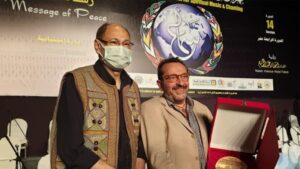 Τιμήθηκε ο Μίκης Θεοδωράκης στο 14ο Διεθνές Φεστιβάλ Λατρευτικής Μουσικής Καΐρο
