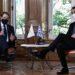Πραγματοποιήθηκε η συνάντηση Μητσοτάκη - Αναστασιάδη στο Μέγαρο Μαξίμου
